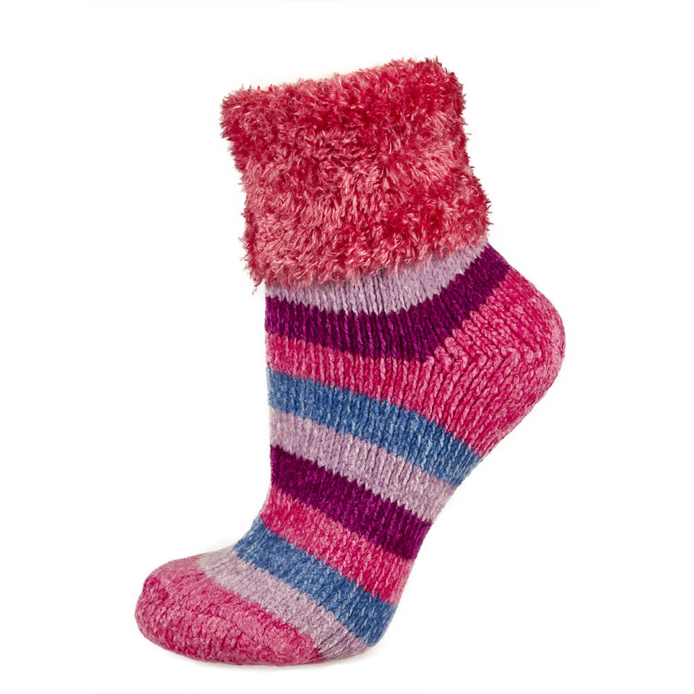 Spoil your feet with our women's fuzzy sock collection! Find your favorite pair of our super soft, comfy and cozy, fuzzy socks today.