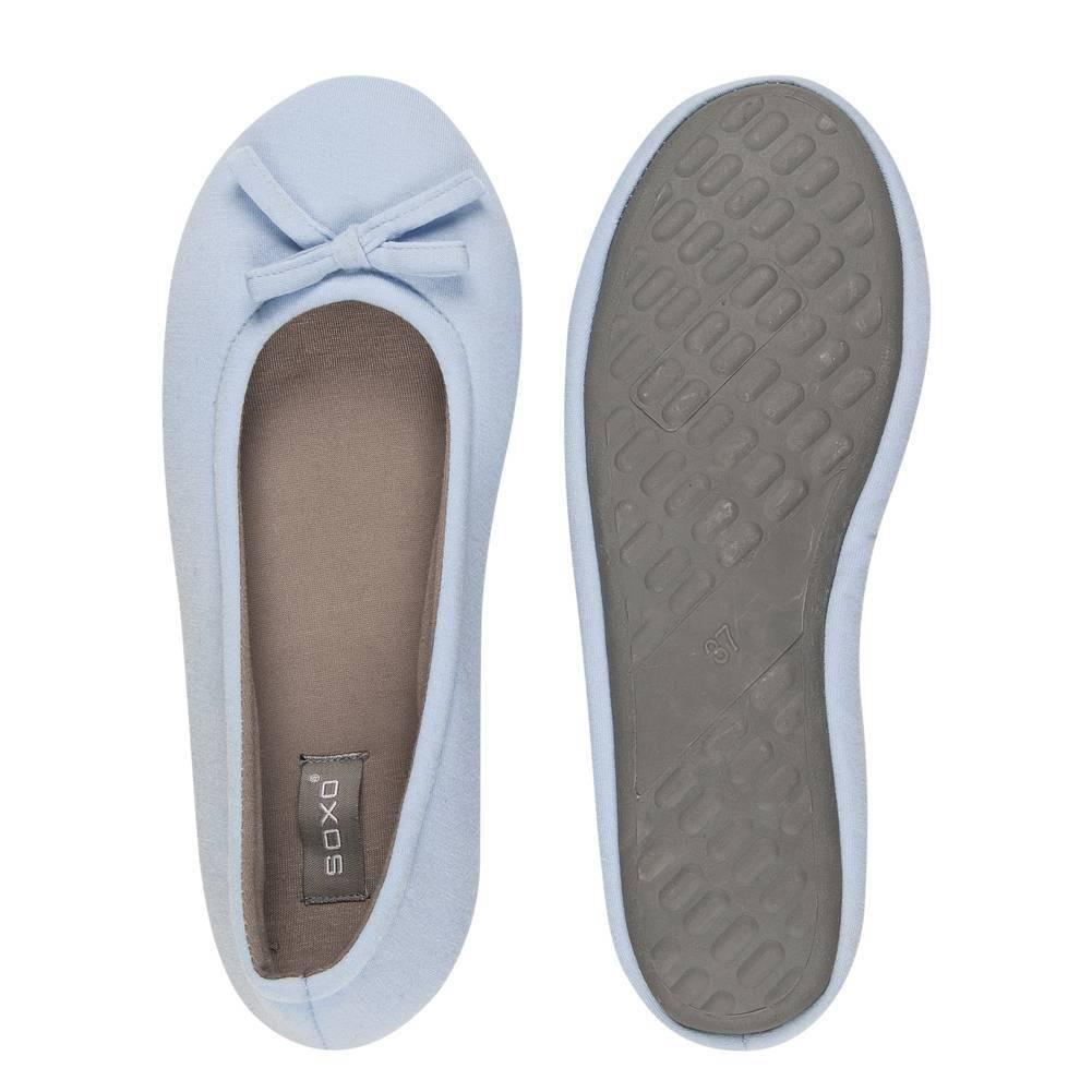 Soxo Ballerina Slippers With Hard Sole Soxo Socks
