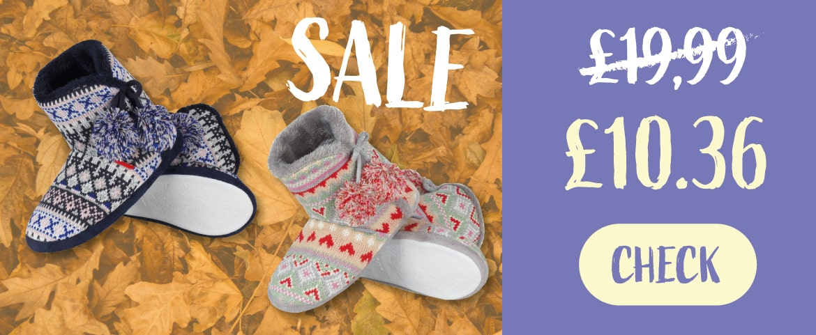 HIGH BOOTS SLIPPERS SALE!