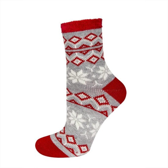 Ankle socks SOXO with Colorful Patterns Cotton
