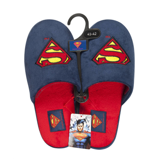 DC Comics SUPERMAN slippers