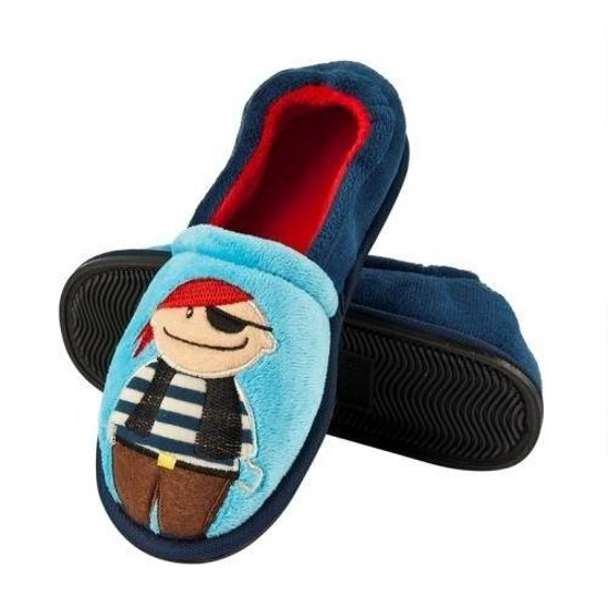 SOXO Boy's slippers with rubber sole