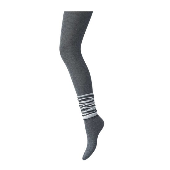 SOXO Children's set: grey tights with gaiters