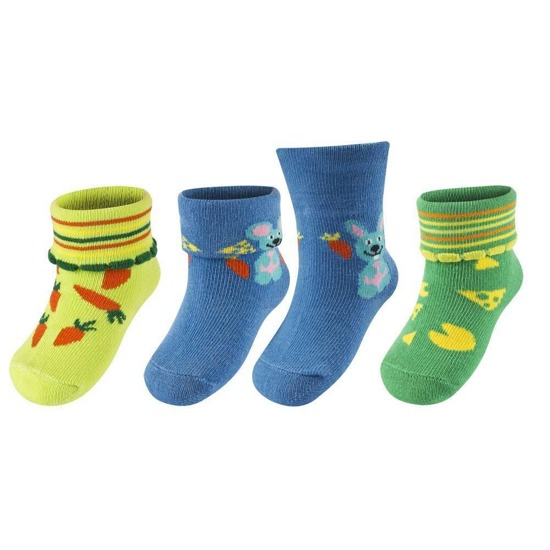 SOXO Infant set: 3 pars of socks with surprise