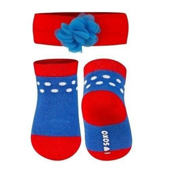 SOXO Infant set: Socks with headband