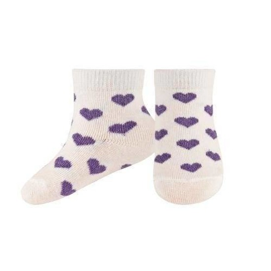 SOXO Infant socks with hearts