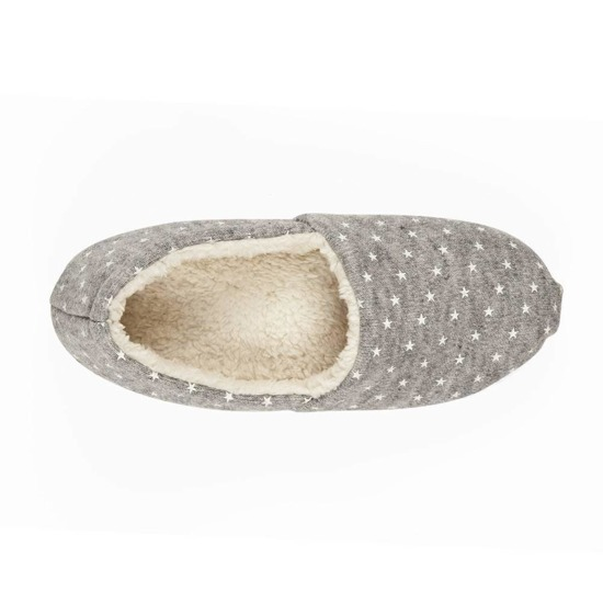 SOXO Women's ballerina slippers with stars and TPR