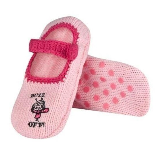 SOXO Women's pink slippers with ABS