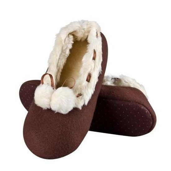 SOXO Women's premium ballerina slippers with furry inner