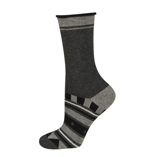 SOXO Women's pressure free socks in pattern