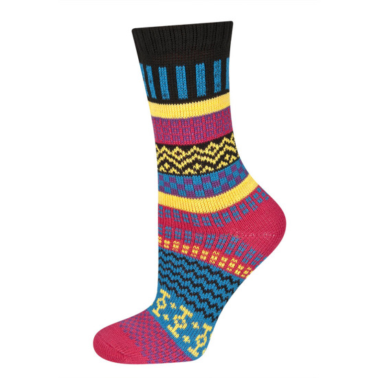 SOXO socks with colorful pattern