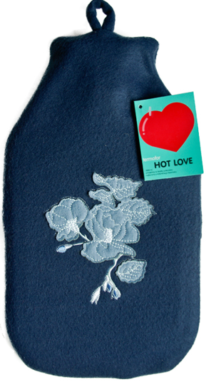 "Thermophore fleece ""Hot Love"" SOXO - ""Flower of love"""