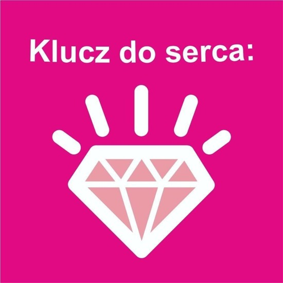 "Women's shorts SOXO with funny Polish text ""Klucz do serca"""