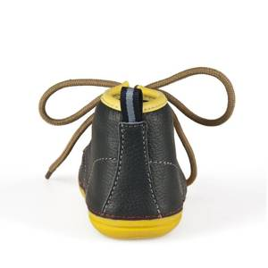 SOXO Baby leather shoes - navy blue