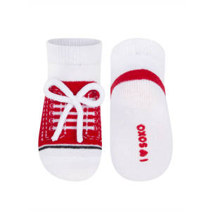 SOXO Infant sneaker socks with laces