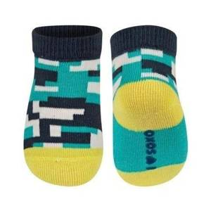 SOXO Infant socks with pretty patterns