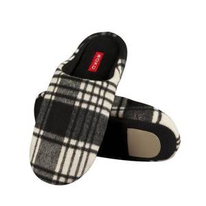SOXO Men's checkered slippers