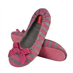 SOXO Women's ballerina slippers with patterns