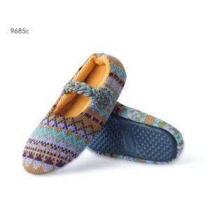 SOXO Women's slippers with Aztec patterns and TPR sole