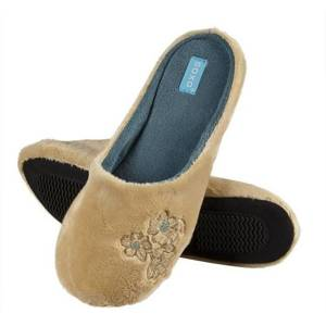 SOXO Women's slippers with embroidery